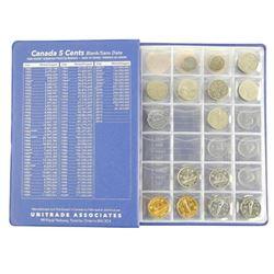 Canada - Mixed Lot Coin Book