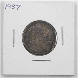 1937 Canada Silver 25 Cent