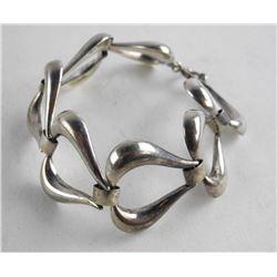 Estate - Sterling Silver Link Bracelet