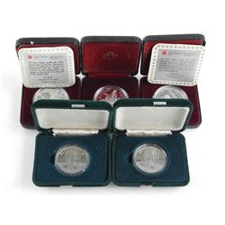 Lot (5) Cased Dollars Mixed