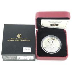 "2012 Fine Silver 20.00 ""Snowflake"" Mintage (SSE)"
