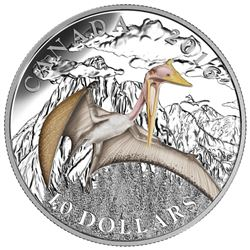 2016 $10 Day of the Dinosaurs: Terror of the Sky - Pure Silver Coin