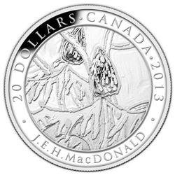 2013 $20 Group of Seven: J.E.H. MacDonald, Sumacs - Pure Silver Coin