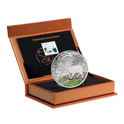 2015 $20 Baby Animals: Mountain Goat - Pure Silver Coin and Stamp Set