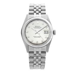 Rolex Pre-owned 36mm Mens Silver Stainless Steel - REF-460N2H