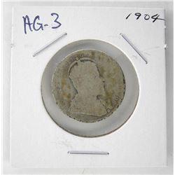 1904 Canada 25 Cent. AG-3