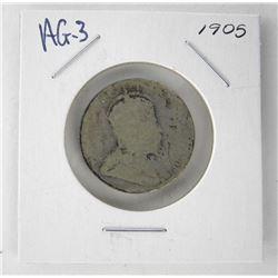 1905 Canada 25 Cent. AG-3