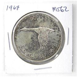 1967 Canada Silver MS62.