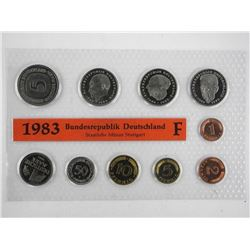 Germany 1983 Coin Set