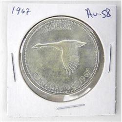 1967 Canada Silver AU58