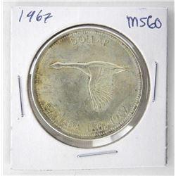 1967 Canada Silver MS60