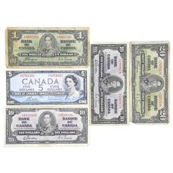 Estate Lot Bank of Canada Notes: 1937-1954 Face 46