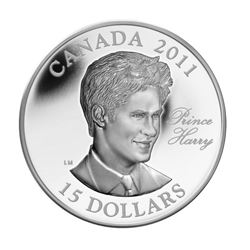 2011 $15 Continuity of the Crown: Prince Harry - U