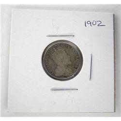 1902 Edward Silver 10 Cent