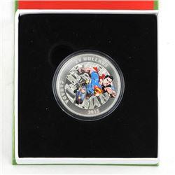 .9999 Fine Silver $20.00 Coin 'Superman Comics #1'