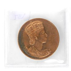 Canada 1953 Queen Elizabeth II. Coronation Medal U