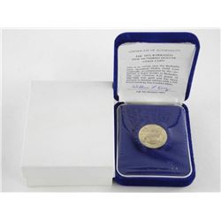 1975 Barbados $100.00 Gold Coin