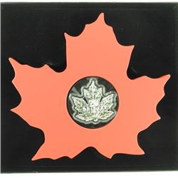 .9999 Fine Silver $20.00 Coin Maple Leaf with Disp