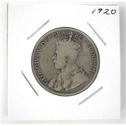 1920 Canada Silver 50 Cents