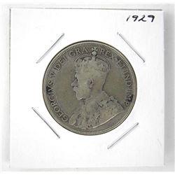 1929 Canada Silver 50 Cents