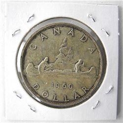 1960 Canada Silver Dollar MS60