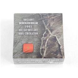 2003 BU Silver Dollar MINT Wrap
