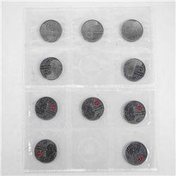 Salaberry 25c Circulation Coin 10-Pack (2013).