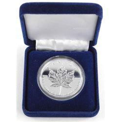 1994 .9999 Fine Silver $5.00 1oz Maple Leaf