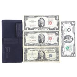 Estate Wallet - with $7.00 U.S. Face