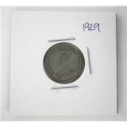 1842 Victoria 50 Cents. NFLD. VG-10