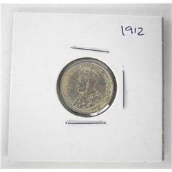 1873 Victoria 50 Cents. NFLD. VG-8
