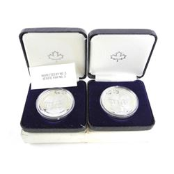Lot (2) 925 Sterling Silver Royal Wedding Coins