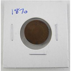 1870 USA Indian Head Penny