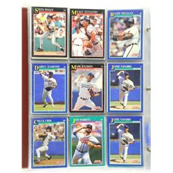 Estate Lot - 2 Binders Baseball Cards