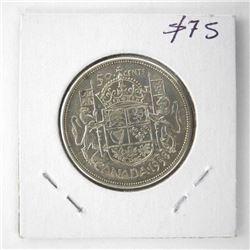 1958 Canada Silver 50 Cent