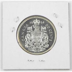 1964 Canada Silver Half Dollar. MS63