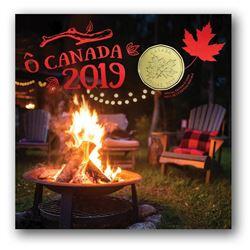O CANADA 2019 Coin Set UNC Folio
