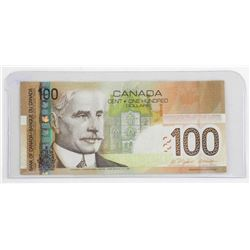 Bank of Canada 2003 One Hundred Dollar Note. BC-66