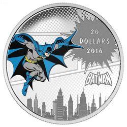 .9999 Fine Silver $20.00 Coin DC Comics 'The Dark