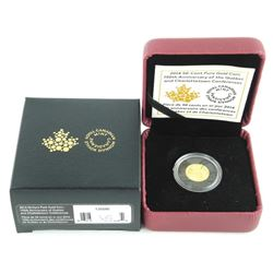.9999 Fine Pure Gold Coin 'Quebec'