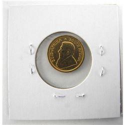 1983 South Africa 'Krugerrand' 1/10 .999 Fine