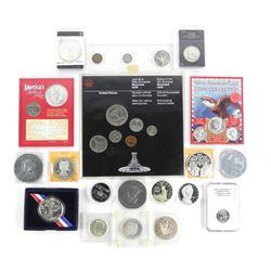 Estate Lot - US Coins Mint Sets etc