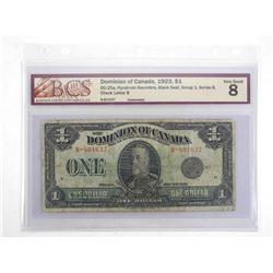 Dominion of Canada 1923 - One Dollar. VG8