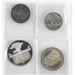 Estate Lot (4) Silver Medals (78g)