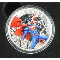 .9999 Fine Silver $20.00 Coin '2014 - Superman' (2