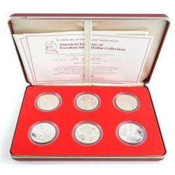 George Washington 6pc Proof Coin Set with C.O.A.