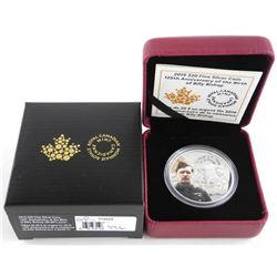 2019 .9999 Fine Silver $20.00 Coin 125th Anniversa
