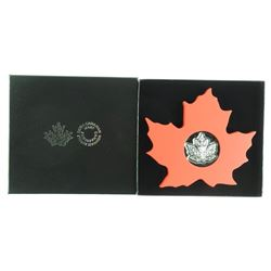 2015 .9999 Fine Silver $20.00 Maple leaf Coin in D