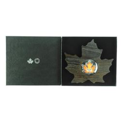 2016 .9999 Fine Silver $20.00 Maple leaf Coin in D