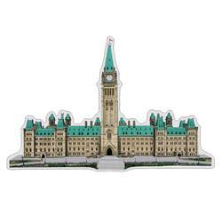 .9999 Fine pure Silver Sculpture - Parliament Buil